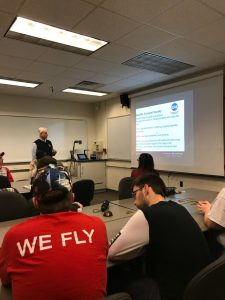 CAS President Visits Ball State University