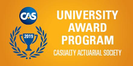 2019 cas university award program now accepting applications cas